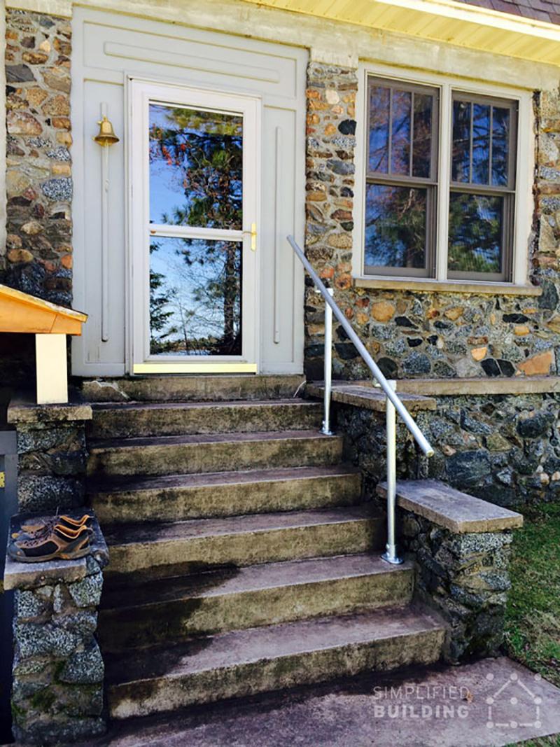 porch railing ideas 47