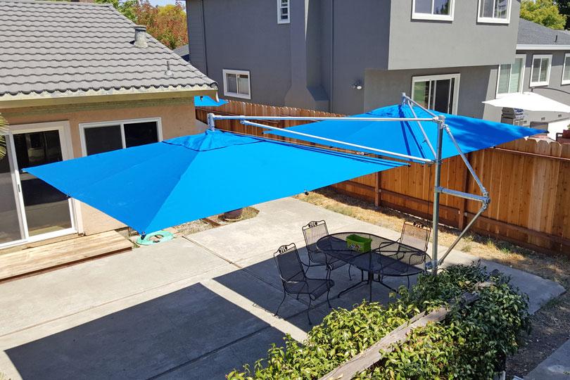 DIY Umbrella Support