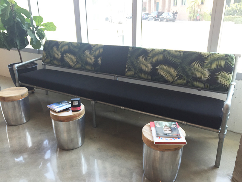 As I Mentioned Above Roland Built This Sofa For His New Coffee Vice City Bean In Miami Florida To Build The