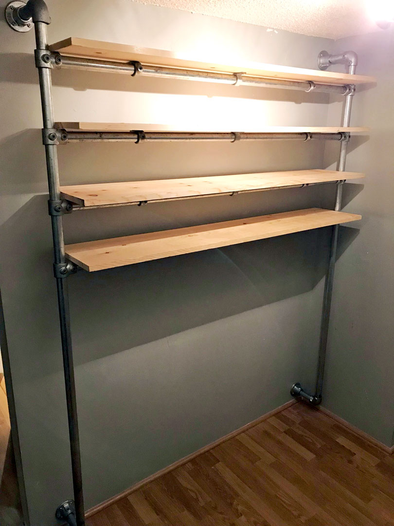 Superieur DIY Walk In Closet