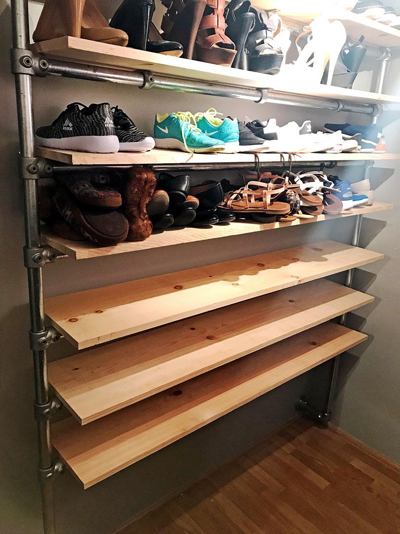 DIY Walk In Closet