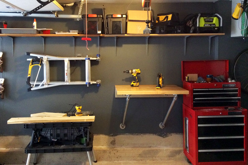 11 Diy Workbench Ideas For Your Garage Or Office Simplified Building