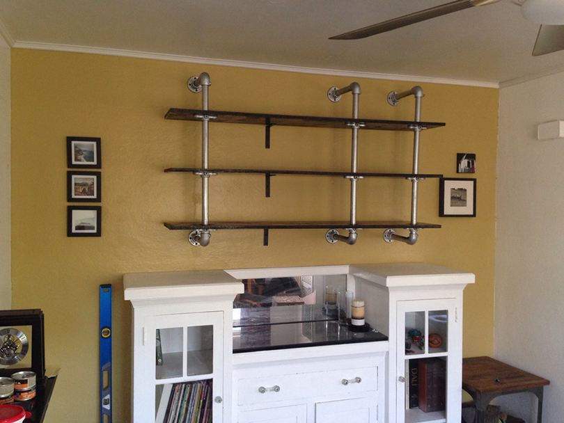 diy storage shelf 30