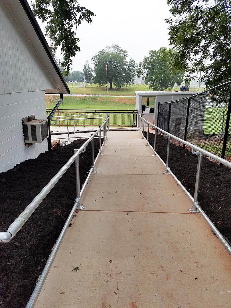 Stadium Handrails
