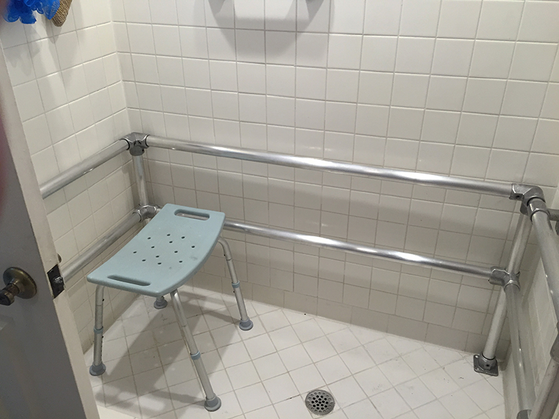 Shower Handrails