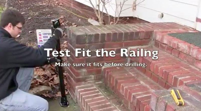 Test Fit Railing