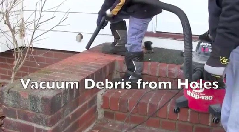 Vacuum Debris