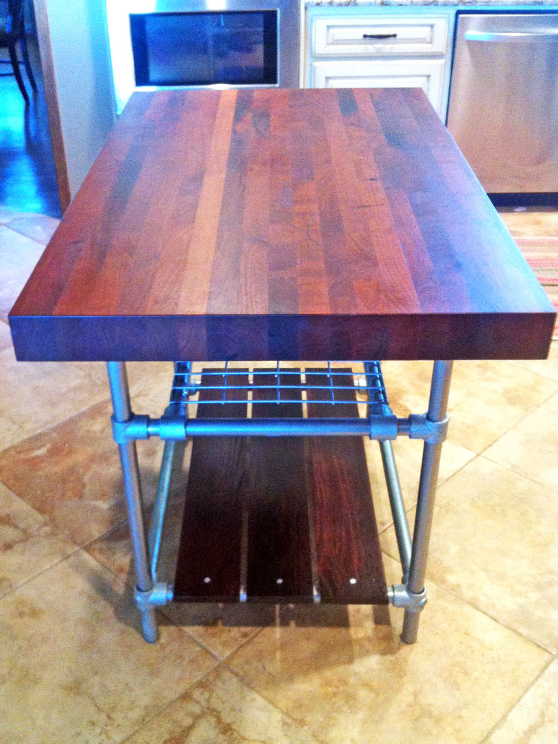 butcher block kitchen island tracey a