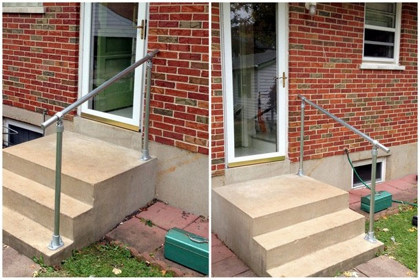 stair railing install 0 4