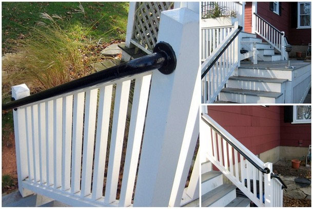 stair railing install 0 6