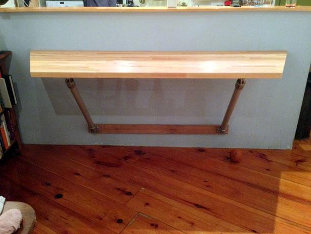 butcher block table 0 4