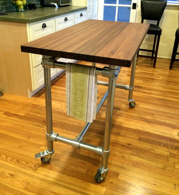 diy butchers block table