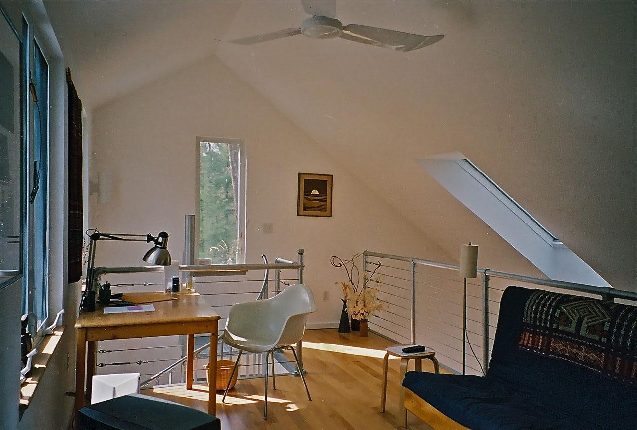 indoor loft railing