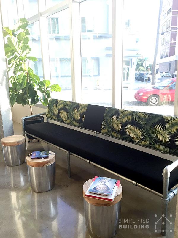 Pipe Sofa