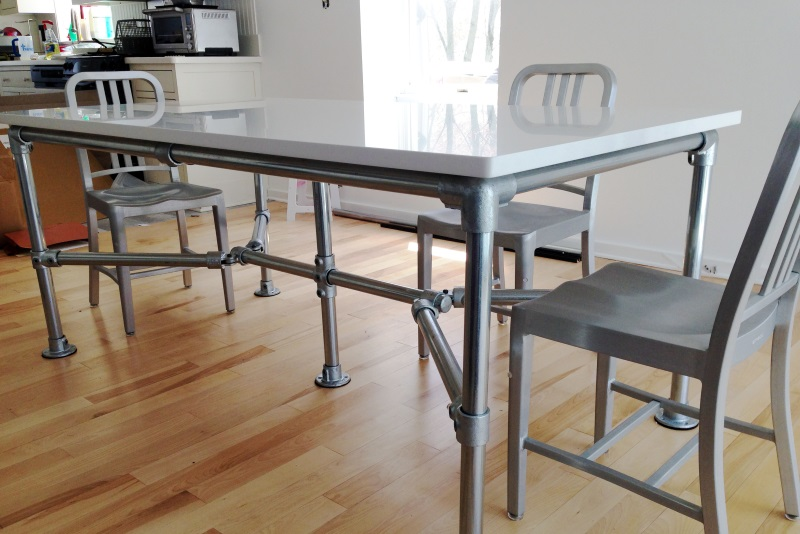 DIY Quartz Dining Table