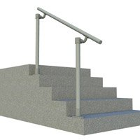 Simple Rail Handrail