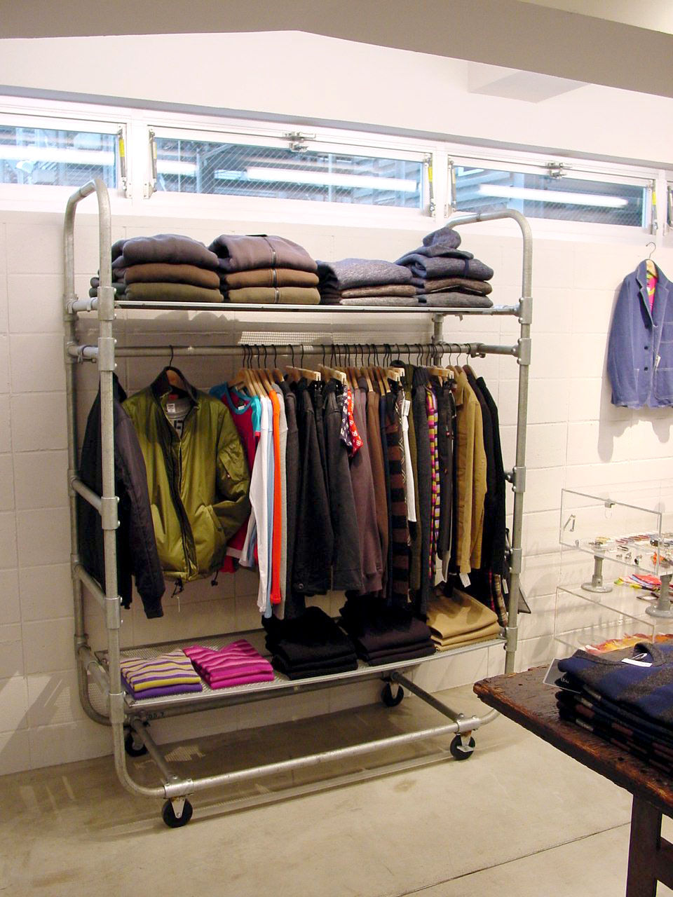Store clothing racks for sale