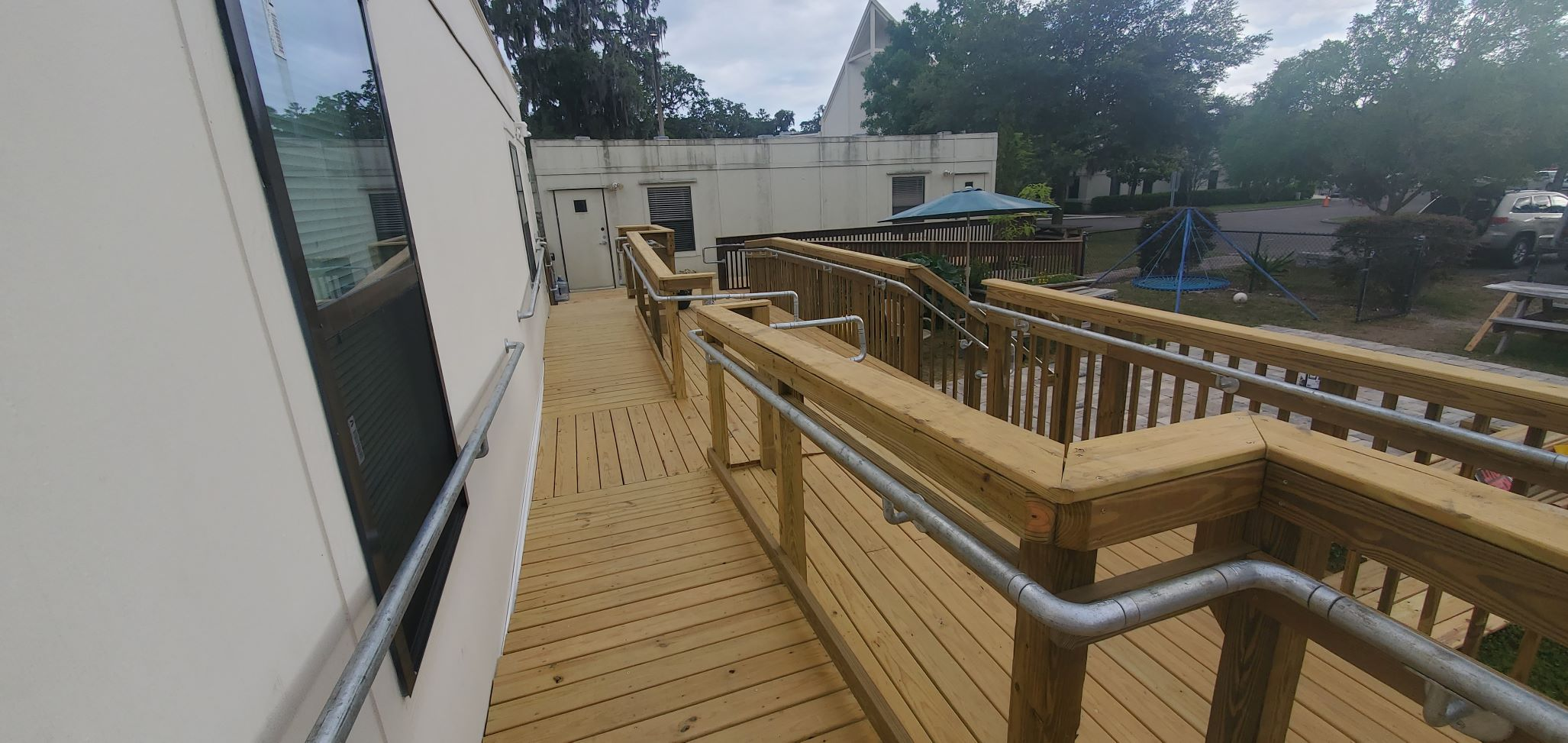 ADA Rail for Ramp and Steps