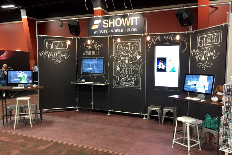 Trade Show Booth Walls : Diy trade show booth banner ideas to copy for your next event