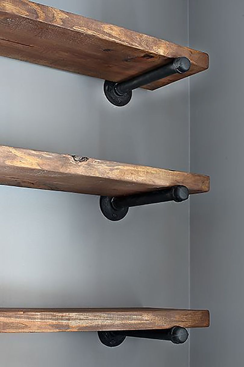 pipe pantry shelves
