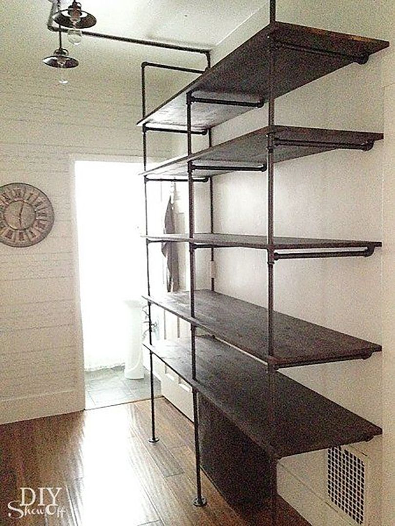 pipe pantry design