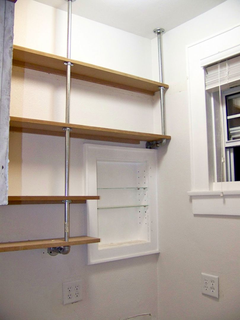 floating pantry shelves