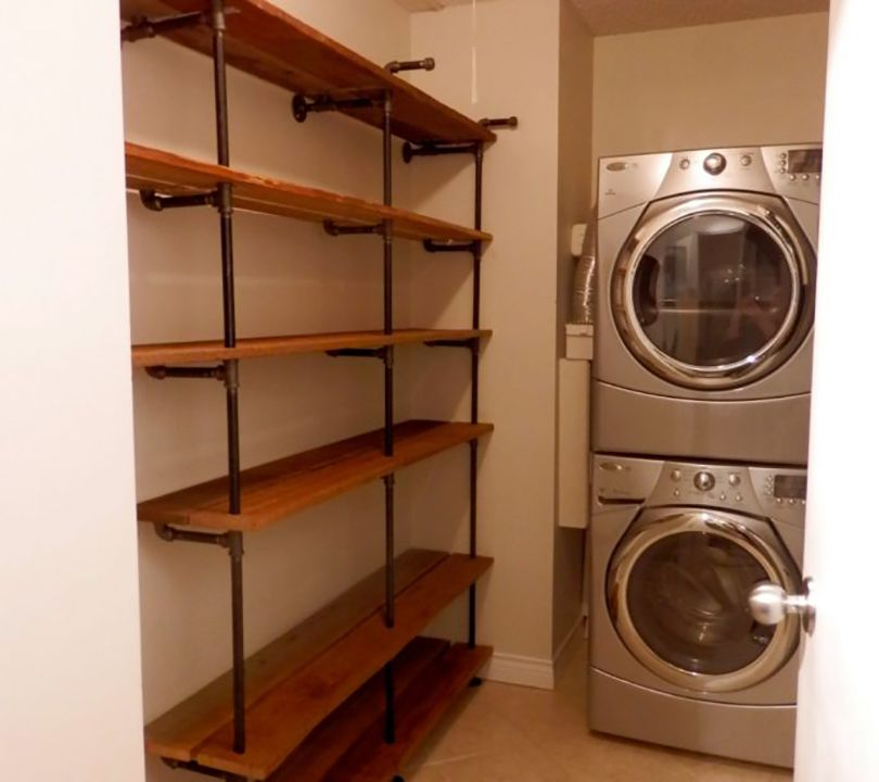 wall mounted pantry shelving diy