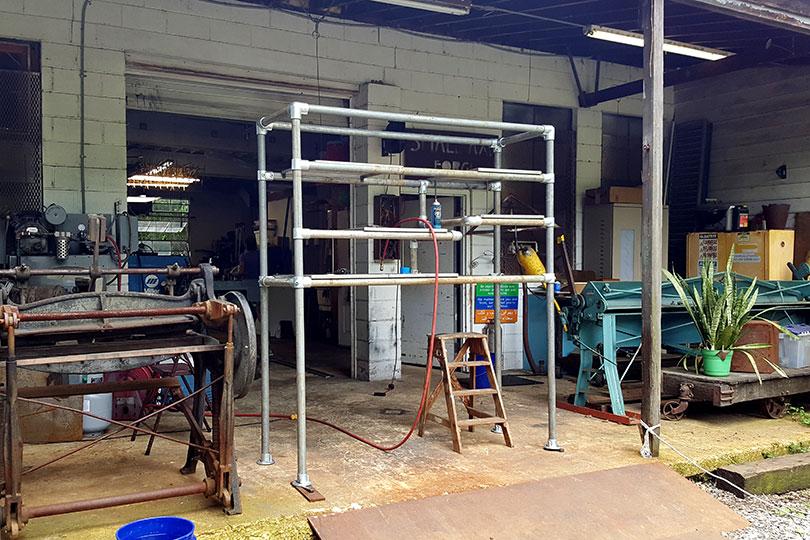 Heavy Duty Retail Shelving Unit - Assembly