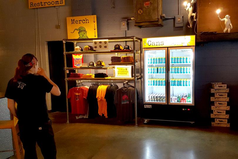 Heavy Duty Retail Shelving Unit