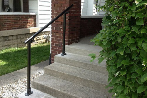 Easy to Install Outdoor Stair Railing | Simplified Building Exterior Handrails For Steps on outdoor steps, exterior lights for steps, wooden front steps, exterior steel handrails, exterior railing ideas, exterior handrails public, exterior rails for steps, plastic exterior steps, exterior aluminum handrails, front door steps, exterior handrail lighting, exterior house steps, mobile home exterior steps, hand railings for front steps, exterior handrail profiles, handrail outside steps, exterior wooden handrails, exteriror metal handrails steps, aluminum railings for steps, exterior handrail kits,