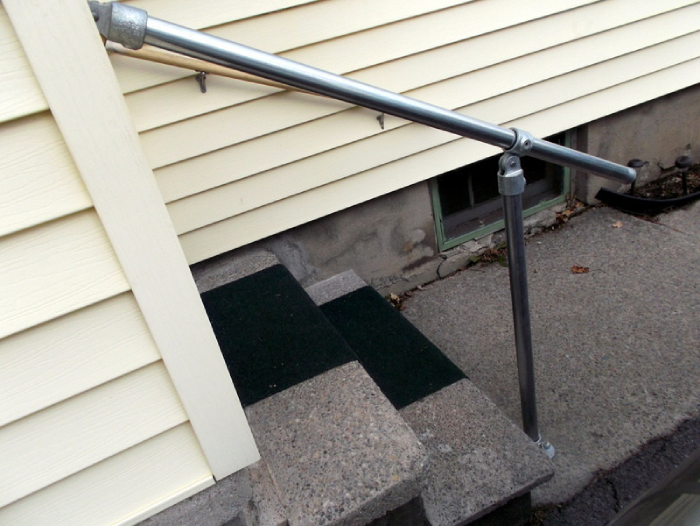 Handrail for Outdoor Use