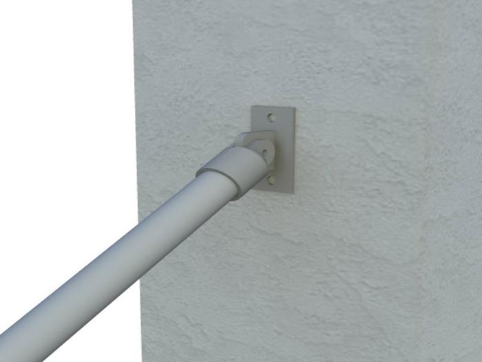 Classic Limited Hybrid Simple Rail Handrail Render 5
